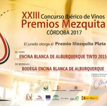 Premios Mezquita Plata