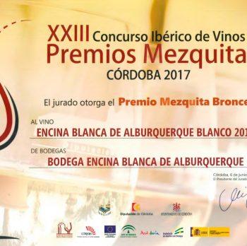 Premios Mezquita Bronce